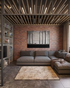 The look of exposed brick has always captured appeal. There's something so interesting about the texture and the subtleties of color in brick that it's no surpr