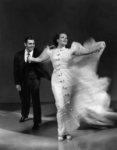 Joan Crawford & Clark Gable Love On The Run, 1936