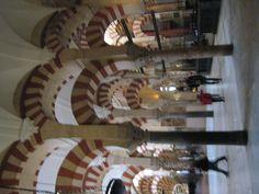 Interior de la Mezquita Catedral.