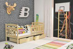 Kinderbett Noah mit zwei großen Bettkästen in 2 unterschiedlichen Dekoren Diese Kinderbetten unterscheiden sich von anderen in Kreativität, Schönheit und durch den Einsatz...  #kinder #kinderzimmer #kinderbett #bettkasten