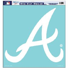 MLB professional sports merchandise - Braves - 18x18 Decal - MLB