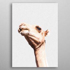 CAMEL STIPPLE EFFECT\ metal poster