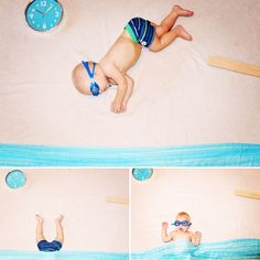 Fantasy baby photography