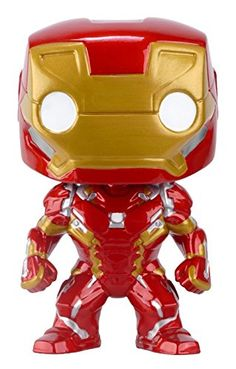From Captain America 3: Civil War Iron Man as a stylized POP vinyl from Funko! Figure stands 3 3/4 inches and comes in a window display box. Check out the other Civil War and Marvel Cinematic Univer...
