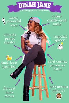 Dinah Jane: an infographic