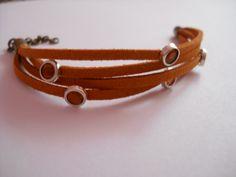 Hobnailed bracelet