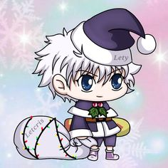 Hunter x Hunter - Padoru Chibi Anime, Anime Kawaii, Anime Naruto, Anime Manga, Hunter X Hunter, Hunter Anime, Killua, Anime Films, Anime Characters