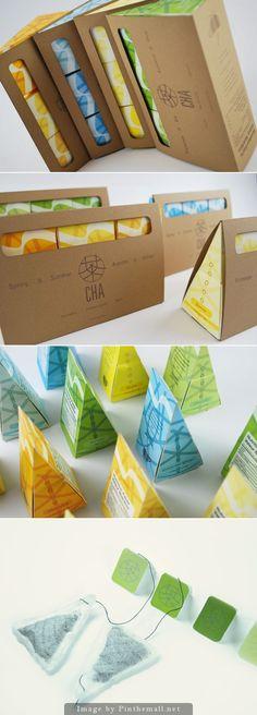 CHA - tea packaging PD