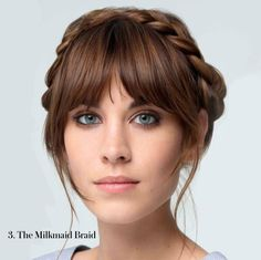 Look 3 is The Milkmaid Braid. Pretty as a picture and perfect with a fringe. Is this our Summer Blow? Follow blow LTD vote to enter our £100 hair product + VIP blowdry with Zoe Irwin giveaway! 1 like = 1 vote