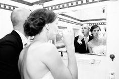 Zahnputz Hochzeitsbild | Clodie und Steffen - Angela Pfeiffer