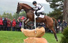 Blair castle salmon jump at  2015 European Eventing Championship in Scotland # horse