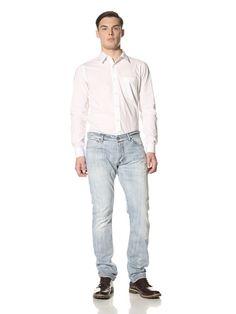 50% OFF Fendi Men\'s Skinny Selvedge Jeans (Blue)
