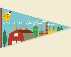 America's Dairyland - Art by Richard LaRue