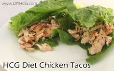 Taco Night for the HCG Diet! Super low calorie and super yummy! www.diyhcg.com