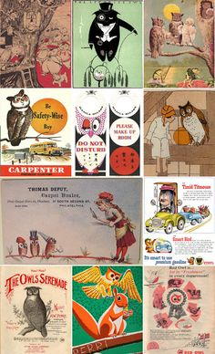 Collection: vintage Ilustrations