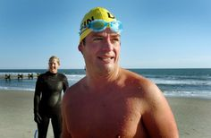 Photo shows Bruckner Chase, Environmentalist and Ocean Waterman https://www.facebook.com/open.water.swimming.707/photos/a.166986560103961.37636.166974636771820/405614986241116/?type=1&theater