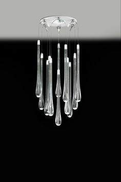 Lacrima collection by Milan Iluminacion, a Spanish lighting company selling worldwide
