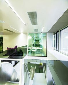 Ultra Modern Microsoft's Headquarters in Vienna by INNOCAD