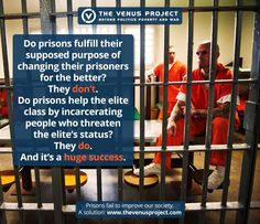 """We are taught that the purpose of prisons is to rehabilitate those who have broken the law. But, in reality, we all know it doesn't end up that way. Prisons merely perpetuate the system's status quo by locking up any person who opposes it. Where, then, is the problem - in the people who break the law, or in the legal system itself? https://www.tvpmagazine.com/2015/04/the-success-of-prisons/  Watch our latest documentary """"The Choice is Ours"""" to learn more on YouTube."""