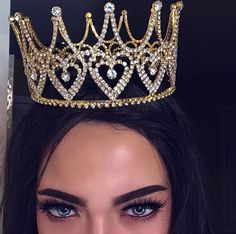 Queen Of Hearts Crown Dress 15, Queen Crown, Queen Queen, Glamour, Tiaras And Crowns, Diamond Are A Girls Best Friend, Girly Things, Bling, Luxury