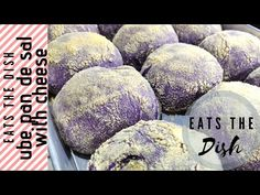 Pan de Sal is a Filipino bread which means bread of salt. Now this ube breed of pan de sal is making wav. Pandesal, Recipe Please, The Dish, Cheese, Make It Yourself, Dishes, Youtube, Recipes, Food