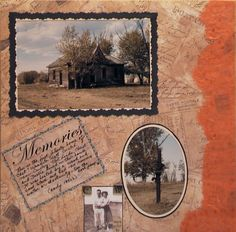 Family history is told beautifully with these cameos of the old home place.