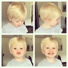 Blonde toddler boys hair style, my gorgeous Ralph x