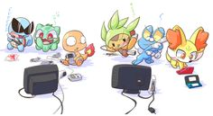 The Different Generations of Pokémon Play Different Games