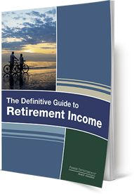 cover image of the definitive guide to retirement income from fisher investments