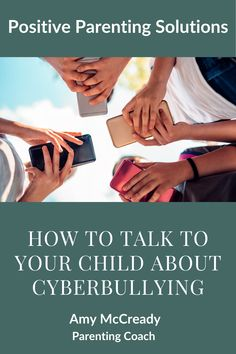 In all my years as a parenting educator, there's one topic in particular that breaks the hearts of parents everywhere– bullying. Children who are bullied are more likely to experience depression, anxiety, health concerns, and struggle academically. Learn how to talk to them about cyberbullying. #pps #positiveparenting #parenting #family #cyberbullying #kidstechnology #kidanxiety Positive Parenting Solutions, Parenting Advice, How To Start Conversations, Anxiety In Children, Eye Roll, Parent Resources, Talking To You, Bullying, Depression
