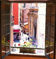 no balcony. Majestic one-of-a-kind apartment in the heart of Old Nice, with viewVacation Rental in Nice Old Town (Vieux Nice) from
