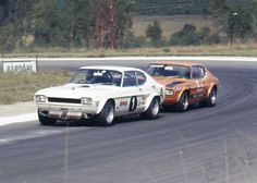 This site is designed for fans and drivers alike with fond memories of Roy Hesketh Circuit. Car Ford, Ford Gt, Sports Car Racing, Sport Cars, Ford Motorsport, Mercury Capri, Ford Sierra, Ford Capri, Ford Classic Cars