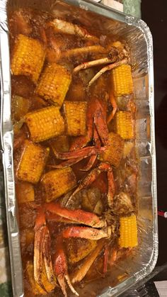 With Cajun seasoned salt and lawrys and butter Cajun Seafood Boil, Seafood Boil Party, Seafood Boil Recipes, Crab Recipes, Seafood Dishes, Crab Boil, Snow Crab Legs Recipe Boiled, Crab Leg Recipes Boiled, Boiled Food