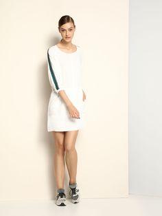 Comanda online, Rochie Top Secret S023173 White. Articole masurate, calitate garantata! Top Secret, White Dress, Sport, Womens Fashion, Collection, Easter, Tops, Dresses, Vestidos