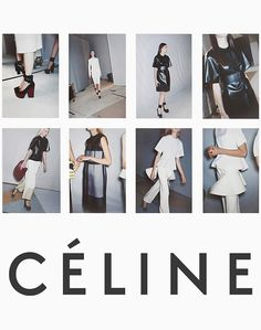 Celine poster :) I want to print this out for my room :) only the bottom with the bags I like Victoria Tornegren, Lookbook Layout, Viviane Sassen, Mode Lookbook, Fashion Lookbook, Fashion Communication, Juergen Teller, Mode Glamour, Visual Identity