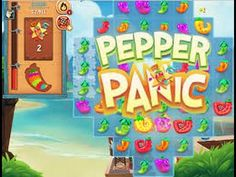 Pepper Panic Saga levels 112 and 113 #pepperpanic #pepperpanicsaga