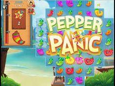 Pepper Panic Saga levels 110 and 111