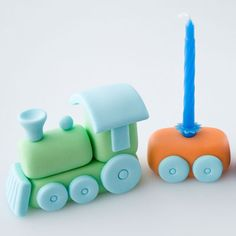 "Trains are always very popular among boys, my own son included. So I thought it would be time for another tutorial for the boys. I have made a sweet little train cake topper inspired by one of my sons ""old"" birthday cakes. I have tried to make the train very simple in the design, so …"