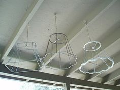 Act Normal Lamp Shade Frame Chandelier