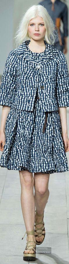 Michael Kors.Spring 2015 – gingham skirt and jacket; gingham trend