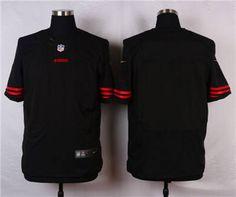 Nike San Francisco 49ers Blank Black Alternate Elite Jersey
