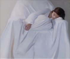 The sleeping girl 110x120 oil on canvas by Svetlana Tartakovska