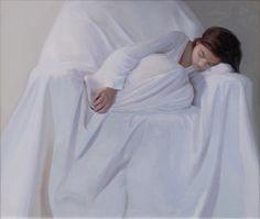 The sleeping girl 110x120 oil on canvas by Svetlana Tartakovska