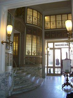 Entrée de la cafétéria des Musées Royaux des Beaux-Arts, Bruxelles