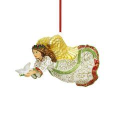 Reed & Barton Angel on High Christmas Ornament, 7-Inch