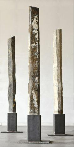 Rob Key basalt sculptures
