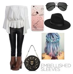"""""""Sweet Bell"""" by pandatrix ❤ liked on Polyvore featuring Alexander McQueen, Frye, Yves Saint Laurent and Lack of Color"""