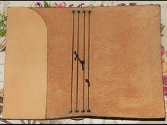 Personalized Notebook, Handmade Notebook, Diy Notebook, Handmade Journals, Handmade Books, Scrapbook Albums, Scrapbooking, Diy Kalender, Bookbinding Tutorial