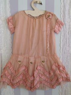 Lille-pige-kjole 1920,erne
