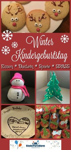 Die 119 Besten Bilder Von Winter Geburtstagsparty Winter